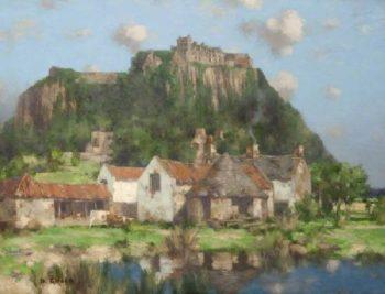 Raploch Stirling | David Gauld | oil painting