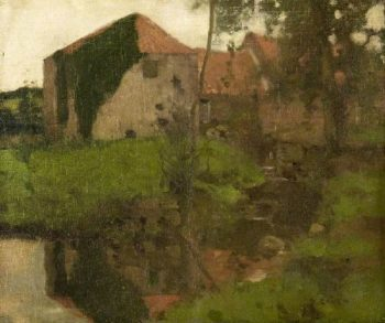 East Linton Mill | David Gauld | oil painting