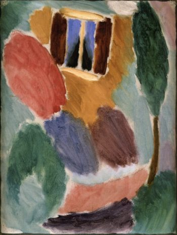 Variation Studio Window | Alexei Jawlensky | oil painting