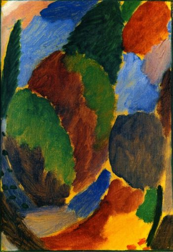 Variation Summer Day | Alexei Jawlensky | oil painting
