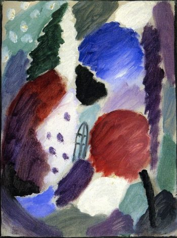 Variation Winter Fairy Tale | Alexei Jawlensky | oil painting