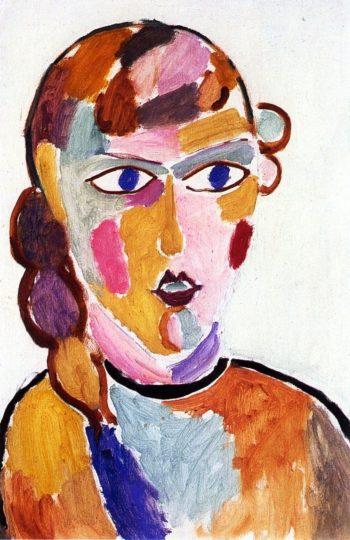 Head No. 2 | Alexei Jawlensky | oil painting