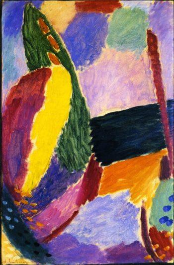 Large Variation Morning | Alexei Jawlensky | oil painting