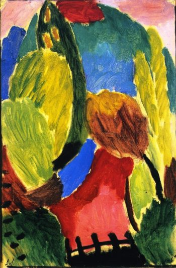 Large Variation Summer Ripeness | Alexei Jawlensky | oil painting