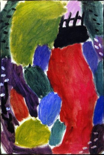 Large Variation Wide Path Evening | Alexei Jawlensky | oil painting