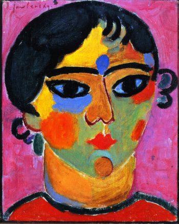 Neapolitan Girl | Alexei Jawlensky | oil painting