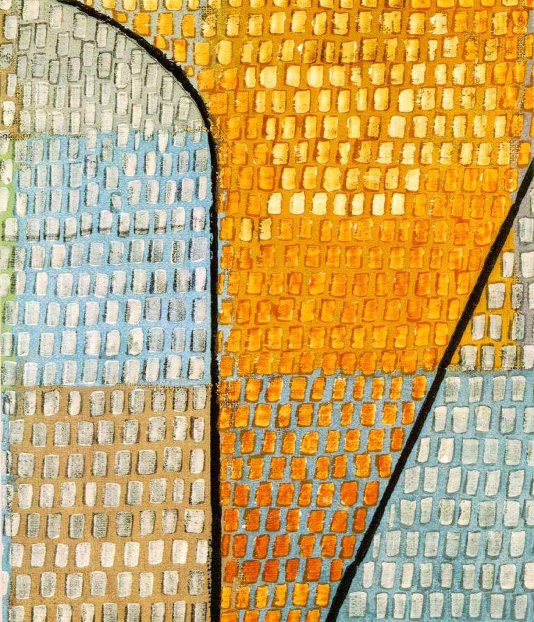 Ad Parnassum, Detail, 1932 Paul Klee
