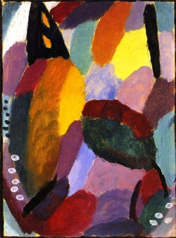 Variation Autumn is Coming | Alexei Jawlensky | oil painting