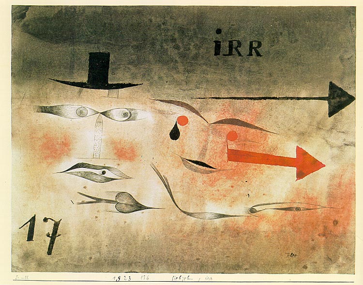 17 Astray, 1923 Paul Klee