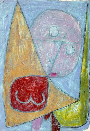 Angel Still Feminine, 1939 Paul Klee