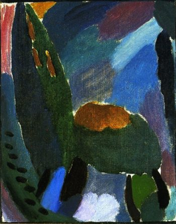 Variation Before the Thunderstorm | Alexei Jawlensky | oil painting