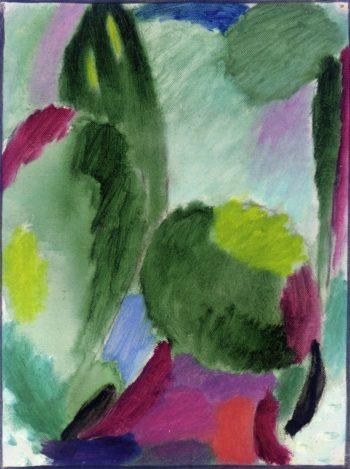 Variation Damp Day | Alexei Jawlensky | oil painting