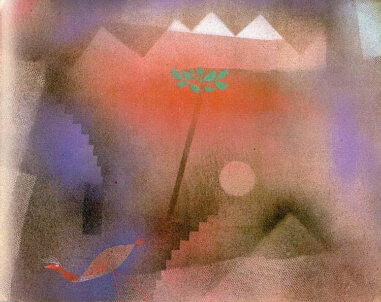 Bird Wandering Off, 1926 Paul Klee