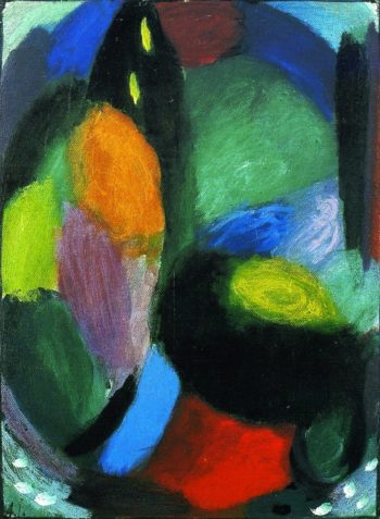Variation Landscape with Mountain | Alexei Jawlensky | oil painting
