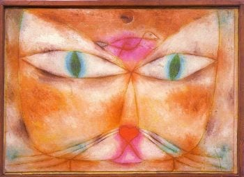 Cat and Bird, 1928 Paul Klee