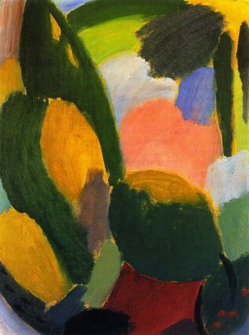 Variation Sound of Summer | Alexei Jawlensky | oil painting