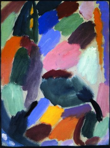 Variation Summer Evening | Alexei Jawlensky | oil painting