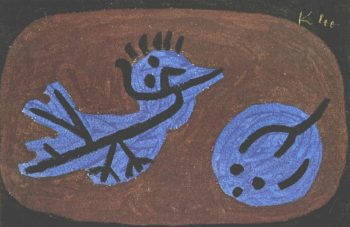 Blue Bird Pumpkin, 1939 Paul Klee