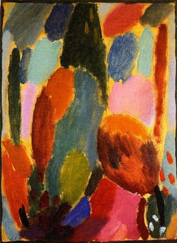 Variation Tendernesses | Alexei Jawlensky | oil painting