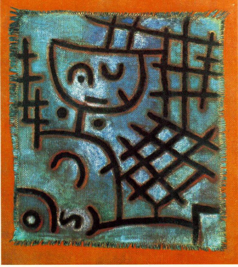 Captive, 1940 Paul Klee