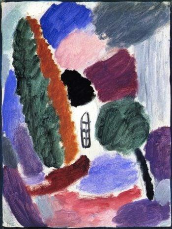 Variation Thaw | Alexei Jawlensky | oil painting