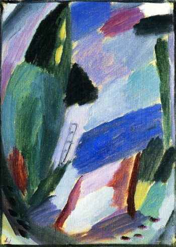 Variation Winter II | Alexei Jawlensky | oil painting