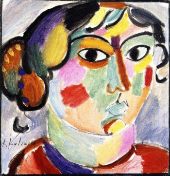 Woman from St Prex | Alexei Jawlensky | oil painting