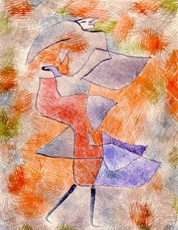 Diana in the Autumn Wind, 1934 Paul Klee