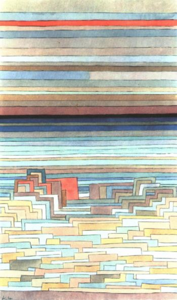 City on a Lagoon, 1932 Paul Klee
