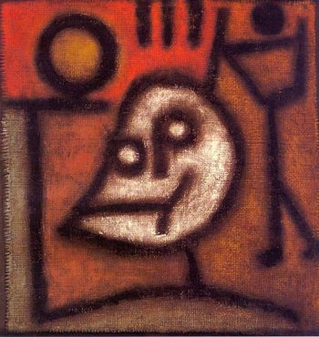 Death and Fire, 1940 Paul Klee