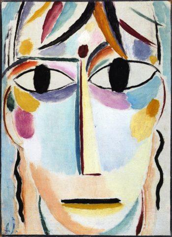 Savior's Face Expectation | Alexei Jawlensky | oil painting