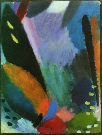 Variation Depth of Feeling | Alexei Jawlensky | oil painting
