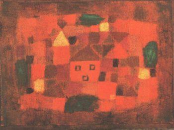 Landscape at Sunset, 1923 Paul Klee