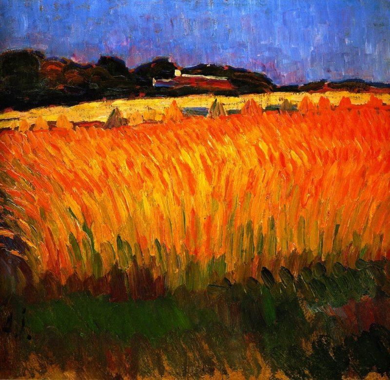 Cornfield   Alexei Jawlensky   oil painting