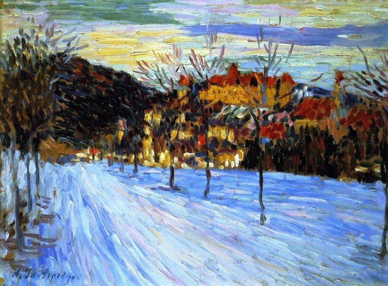 Fussen   Alexei Jawlensky   oil painting