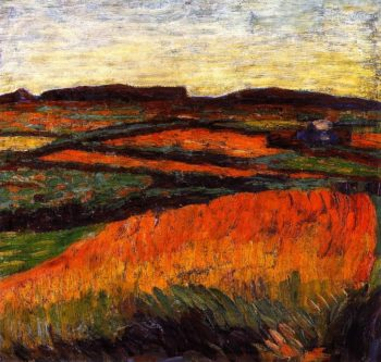 Landscape with Small Wood | Alexei Jawlensky | oil painting