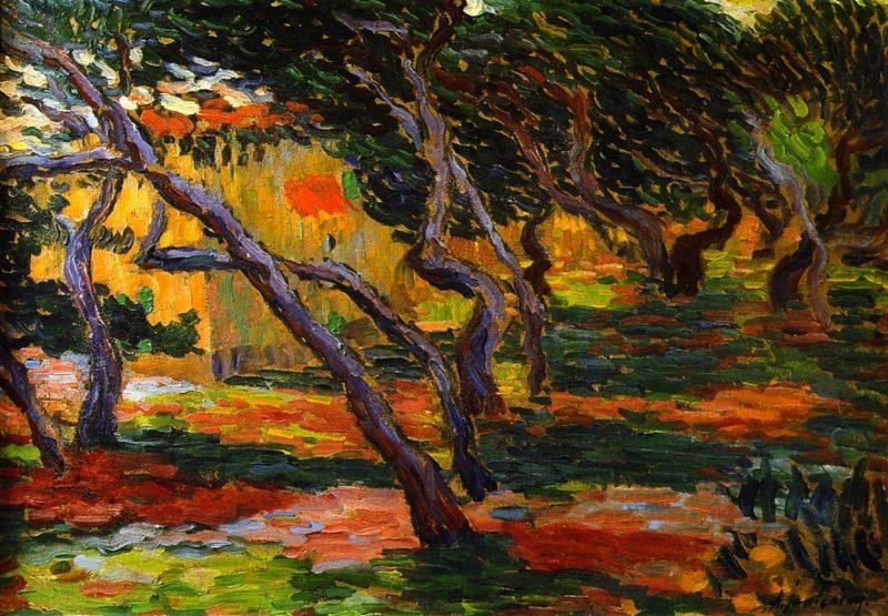 Olive Grove   Alexei Jawlensky   oil painting