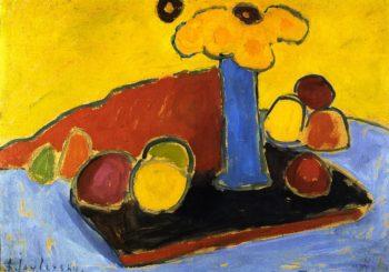 Yellow Sound | Alexei Jawlensky | oil painting