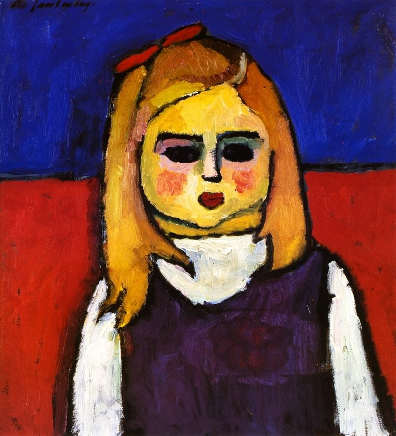 Child | Alexei Jawlensky | oil painting