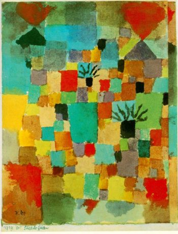 Tunisian Gardens | Paul Klee | oil painting