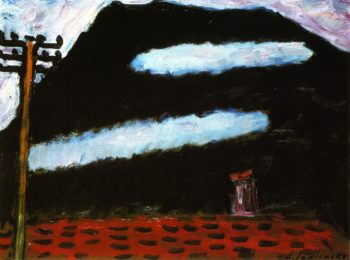 Two White Clouds   Alexei Jawlensky   oil painting