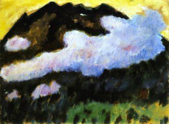 White Cloud | Alexei Jawlensky | oil painting