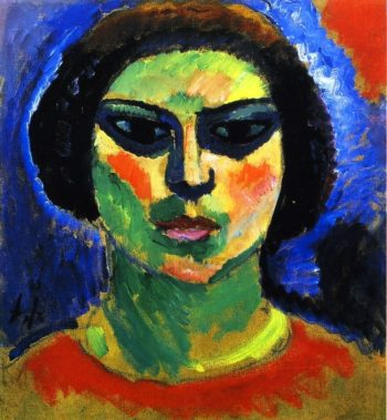 Blossoming Girl | Alexei Jawlensky | oil painting