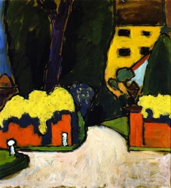 Landscape   Alexei Jawlensky   oil painting