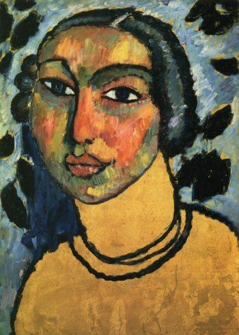 A Jewish Maiden | Alexei Jawlensky | oil painting