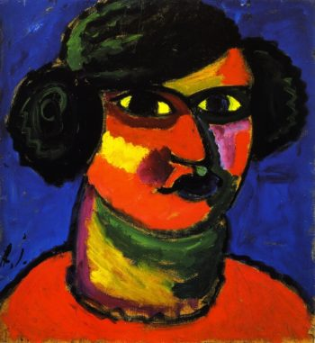Fiery Head | Alexei Jawlensky | oil painting