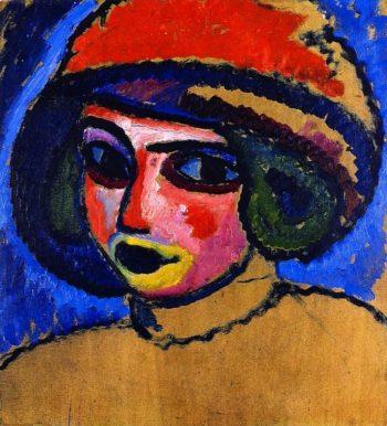 Head of a Girl | Alexei Jawlensky | oil painting