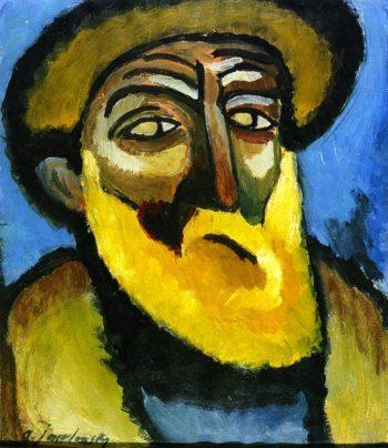 Head of an Old Man with Beard | Alexei Jawlensky | oil painting