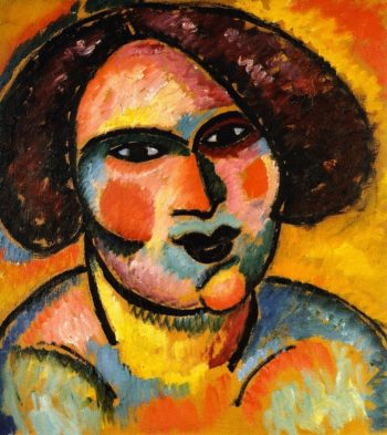 Head of a WomanPrivate collection 1 | Alexei Jawlensky | oil painting