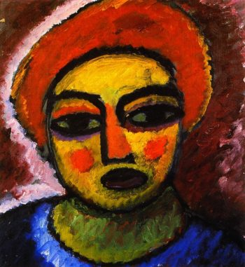 Head of a Woman | Alexei Jawlensky | oil painting